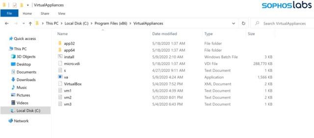 Ragnar Locker Ransomware Files Location