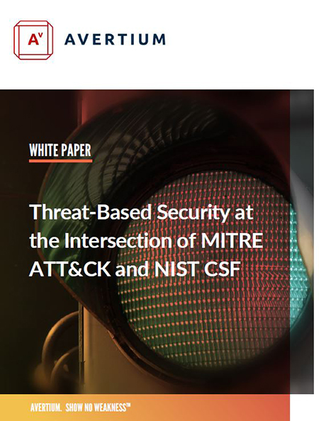 Threat-Based Security at the Intersection of MITRE ATT&CK and NIST CSF
